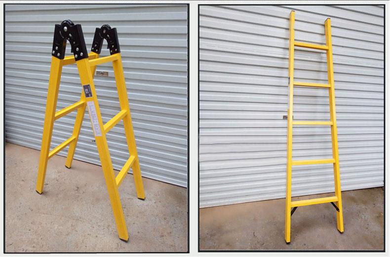 电工专用绝缘关节梯